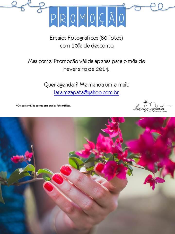 PROMOÇÃO LARA ZAPATA PHOTOGRAPHY